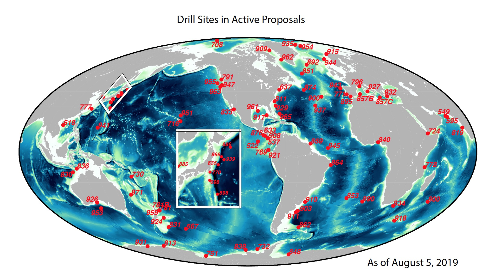 Maps and KML Tools | Resources | IODP